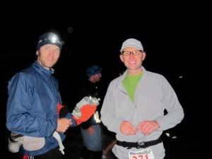 WIth Rob, Heading Toward The Finish