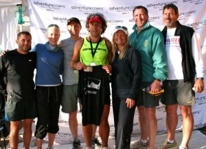 Runner And Crew: Jimmy, Paige, Me, Adrian, Simone, Ed And Terry