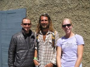 Me, Tony Krupicka, and Paige