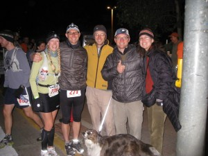 Paige, Me, Rob, Tom and Rina - At The Start