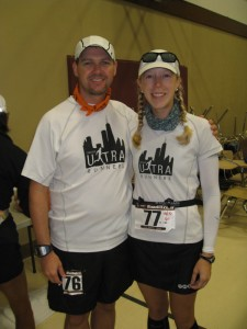 Brian And Paige, Moments Before The Start