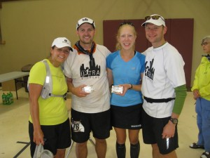 """Kelly And I With Our """"Buckle Rich"""" Runners"""