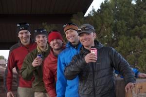 Wyn, Rob, Brian, Me, And Tom