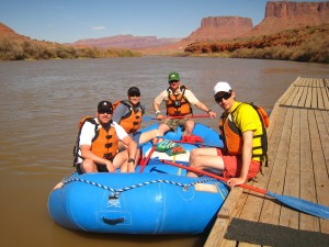 On The Colorado River