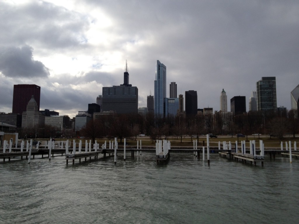 Chicago = Familiar, From The Pier = New Perspective